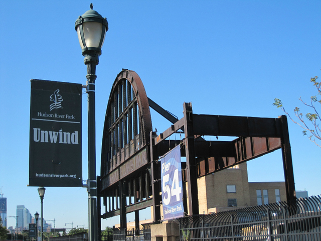 <p>Pier 54 in Hudson River Park. The Hudson River Park Trust hopes to modernize and improve the area for concerts.</p>