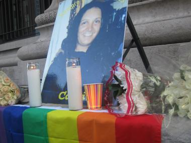 Camila Guzman, a transgender woman, was found stabbed to death in her apartment at 170 East 110th St.