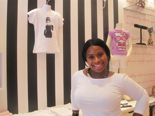 Tirzah Brown named her new kids clothing boutique,