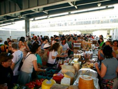 New Amsterdam market is growing each year, and the founders hope to make it a permanent part of lower Manhattan.