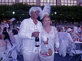 'Diner en Blanc' Flash Mob Descends on Battery Park City