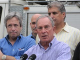 Mayor Bloomberg's Poll Numbers Surge After Hurricane Irene