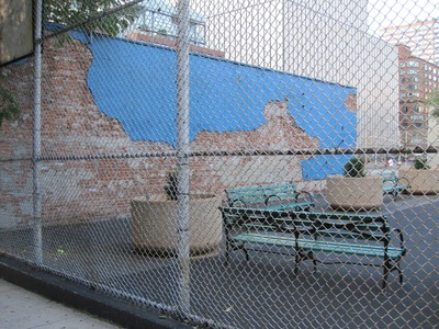 <p>The proposed Boxers location sits next to a playground.</p>