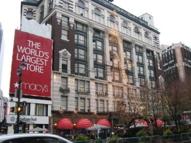 Macy's in Herald Square.