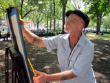 Gritty Painter Captures People and Places of NYC