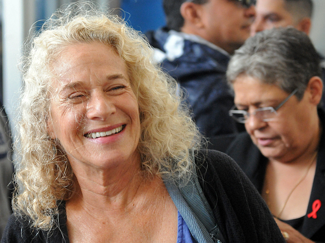Carole King has been a supporter of the Zadroga Bill.