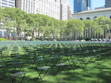 2,753 Empty Chairs Honor 9/11 Victims at Bryant Park
