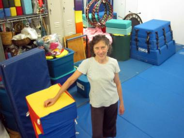 Suellen Epstein started Children's Tumbling in her Murray Street loft in 1978.