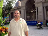 Union Square Park Supervisor Rode Out Hurricane Irene in the Park