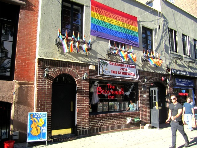 Patrons of The Stonewall Inn were outraged to hear that two Staten Island men who pleaded guilty Sept. 8, 2011 to attacking a man at the Christopher Street gay rights landmark will receive only a fraction of the jail time they initially faced, patrons said Sept. 9, 2011.