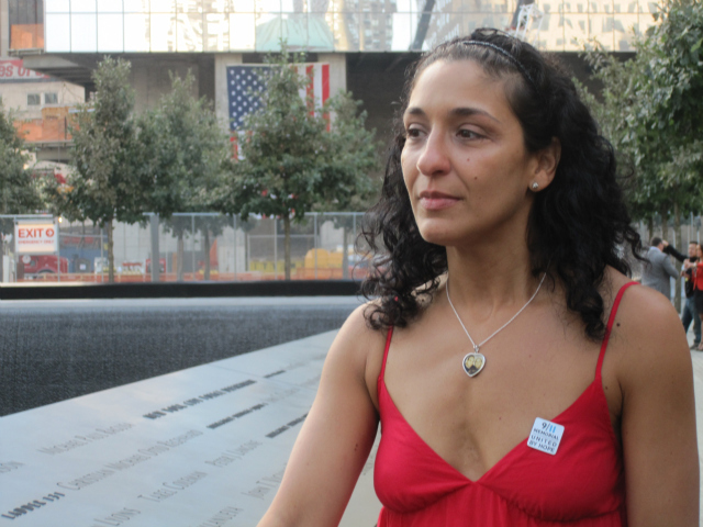 Anthoula Katsimatides, 39, spent 10 years working on the 9/11 Memorial in honor of her brother John Katsimatides who died in the World Trade Center attack at the age of 31.