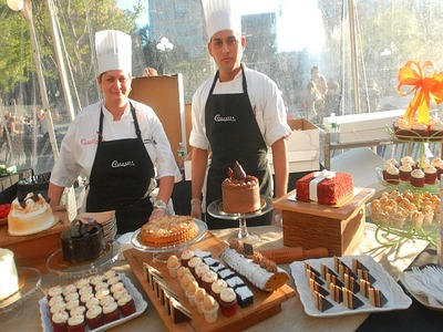 Citarella has served up pastries at Taste of the Village.