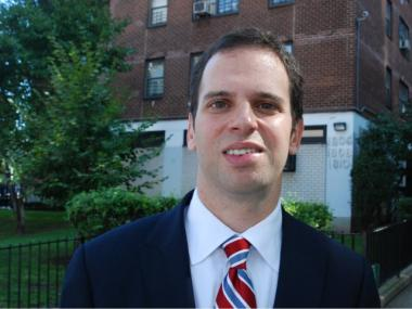 Dan Quart made a final push on the Upper East side on election day.