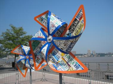 The pinwheels in Michael Kalish's