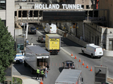 Gas Leak Temporarily Shuts Down Holland Tunnel Service