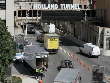 The Holland Tunnel will re-open to commuters in the morning on Wed., Nov. 7.