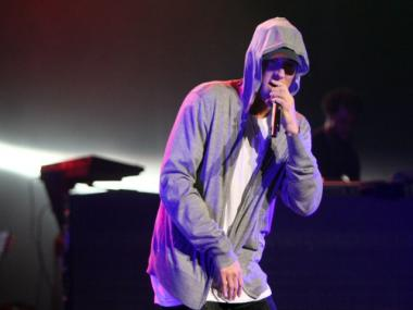 Musicians from Eminem's Shady Records performed Sept. 17, 2011 in a Bleecker Street gallery space, according to Eminem's website.