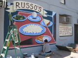 Century-Old Russo's Grocery Spruces Up With New Mural
