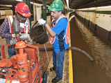 Subway Service Restored  After Water Main Break