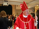 Archbishop Dolan Delivers Mass for Notre Dame School Centennial