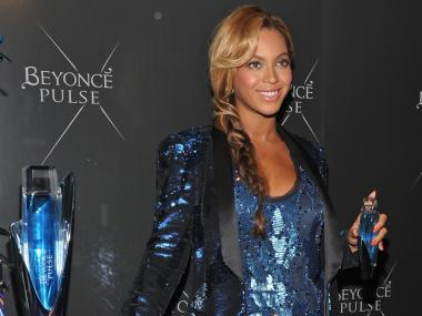 Singer Beyoncé attends the Pulse fragrance launch at Dream Downtown on Sept. 21, 2011.