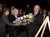 Israeli Prime Minister Lays Wreath at 9/11 Memorial