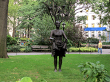 New Sculptures Replace Giant Head in Madison Square Park