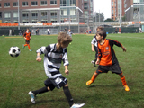 Kickoff Cheered at New Battery Park City Ball Fields