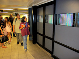 Students Unveil Digital Art Project in Union Square Subway Station