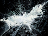'Dark Knight Rises' Shoot Brings Simulated Gunfire to Wall Street