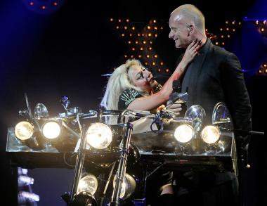 Recording artist Sting performed with Lady Gaga at the iHeartRadio Music Festival at the MGM Grand Garden Arena Sept. 24, 2011 in Las Vegas. The two performed together in New York on Oct. 1 for a Robing Hood Foundation fundraiser.