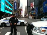 Suspicious Package on MTA Bus Briefly Shuts Down Seventh Ave