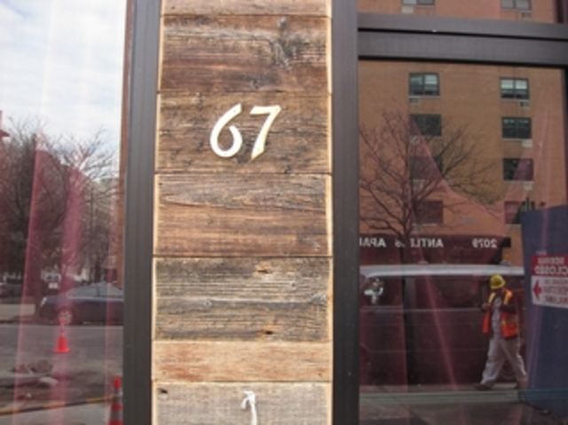 67 Orange on Frederick Douglass Boulevard features an ever-changing menu of creative cocktails. The bar is part of the bar and restaurant boom on Frederick Douglass Boulevard.