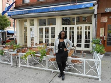 Sakita Holley, editorial director of the Eat in Harlem blog, says Lido Harlem provides great Italian fare at reasonable prices.