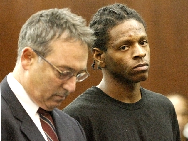Tyshawn Brockington, 21, appears in Manhattan Criminal Court on Oct. 5th, 2011.