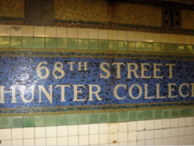 <p>Subway station below Hunter College in the Upper East Side. The MTA wants to build new entrances for the station.</p>
