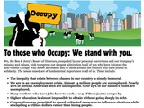 Sweet! Ben & Jerry's Backs Occupy Wall Street