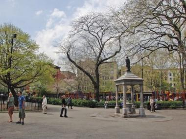 The East Village's Tompkins Square Park is the latest city green space to offer free wireless Internet service.