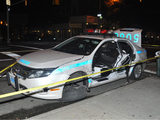 Police Car Crashes on Upper West Side