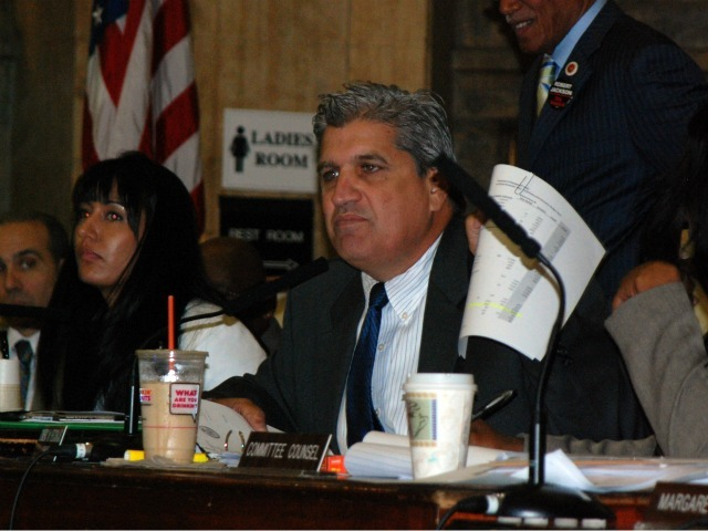 <p>City Councilman Domenic M. Recchia, Jr. slammed the DOE for failing to inform the Council about the layoffs.</p>