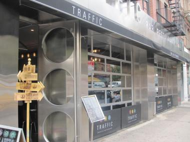 Several neighbors in Hell's Kitchen have complained bar and restaurant Traffic is too loud, particularly when its garage-style doors are open.