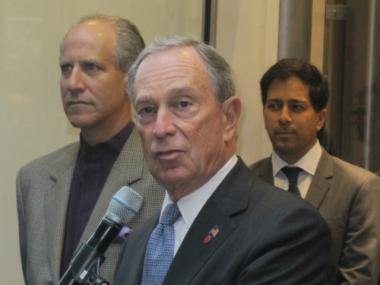 Mayor Michael Bloomberg refused to take questions about the reversal Friday.