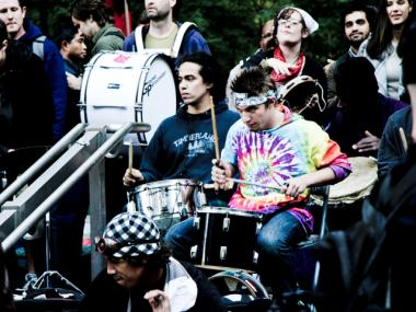 The drumming circle at Occupy Wall Street has drawn complaints from neighbors.