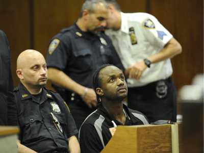 Rayon McIntosh at a hearing in Manhattan Criminal Court on Oct. 18, 2011.