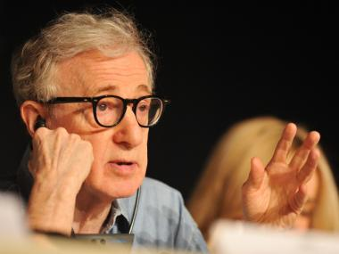 Woody Allen at the Cannes film festival in 2011.