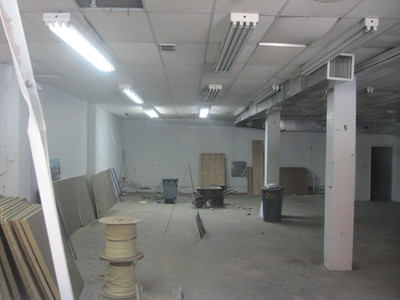 <p>A look inside the building at 766 10th Ave., where Boxers wants to open its Hell&#39;s Kitchen location.</p>