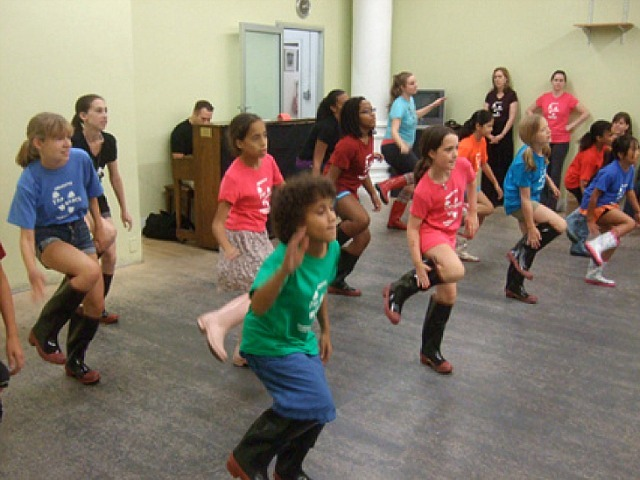 The American Tap Dance Foundation is hosting classes for people of all ages in mid-July 2012.