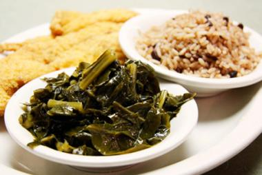 "At the legendary Sylvia's Restaurant, soul food is soul food, said Tren'ness Woods-Black, a third generation owner and founder Sylvia Woods' granddaughter. ""People are coming because they want authentic soul food,"" she said."