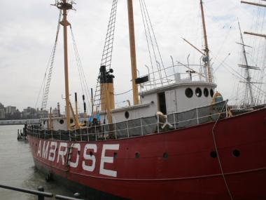 The Seaport Museum New York is seeking a grant to restore the Ambrose, a 1908 lightship.