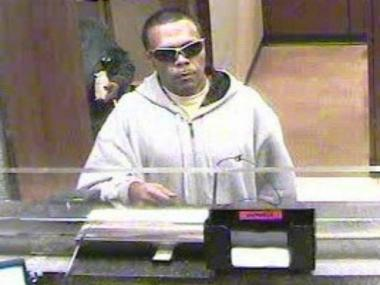 Police released this photo of the suspect in a string of Manhattan bank robberies.